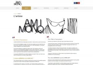 Biographie Amimono